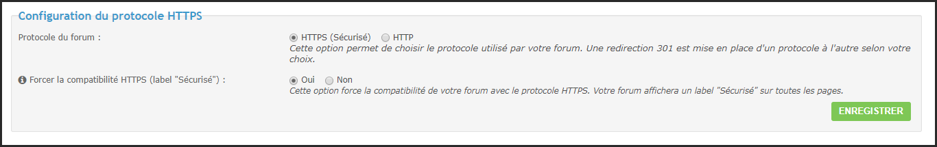 Certificat SSL : Guide d'un passage réussi du forum en HTTPS 25-02-11