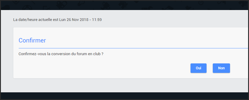 Transformer le forum en club  26-11-11