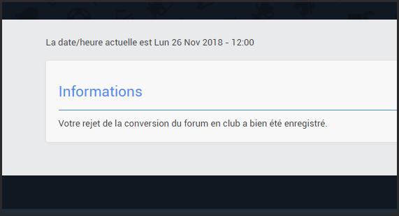 Transformer le forum en club  26-11-12