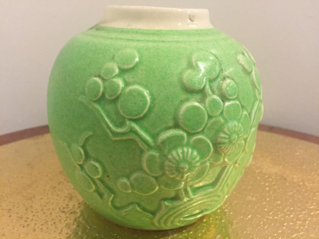 Crown Lynn Ginger Jar - bright green 3a0e3c10