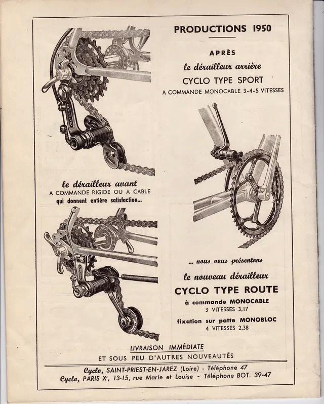 Routier c1950 GERARD SPECIAL Lecycl10
