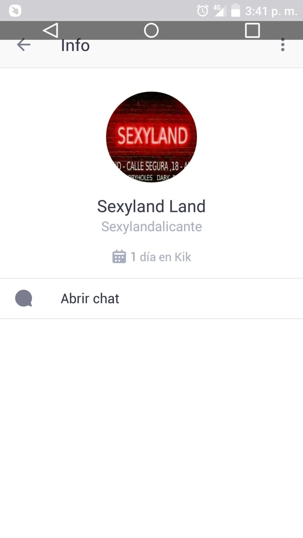 Kik Sexyland y normas 20181110