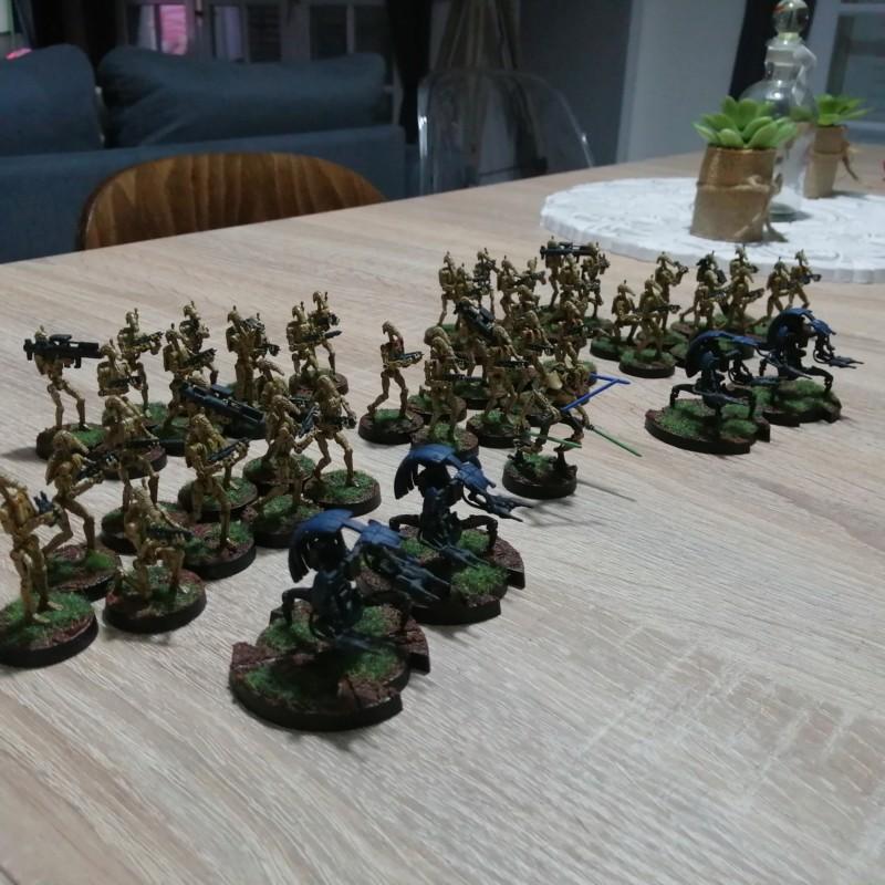 [Légion] Clone Wars - 1ère utilisation des teintes Contrast 20191014
