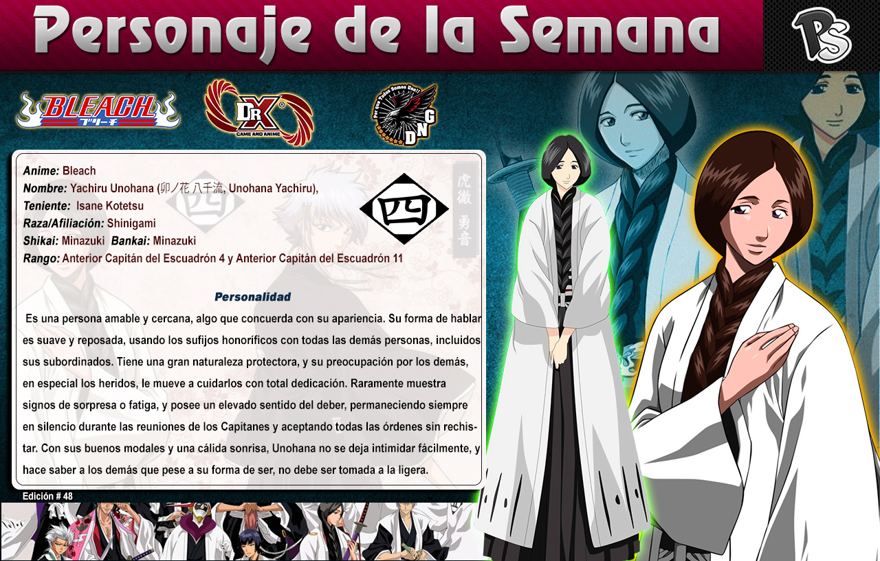 Unohana - (Bleach) Ps #48 4810