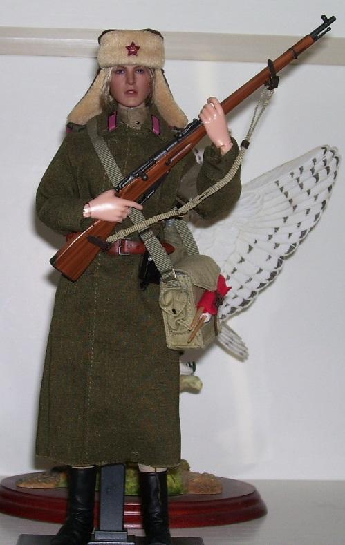alertline - NEW PRODUCT: Alert Line Boundary Game Model: 1/6 WWII Soviet Army Female Soldier NKVD, Soviet Army Female Medical Soldier #AL100031/32 Price announced 100_0010