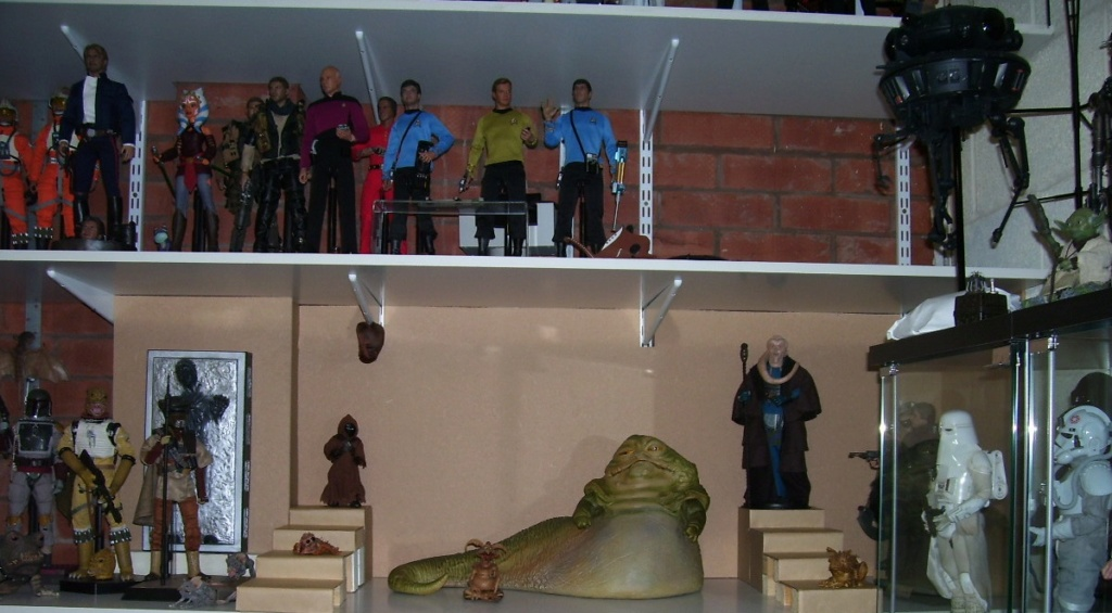 sideshow -  Jabba The Hutt Diorama (New character added) 100_8212