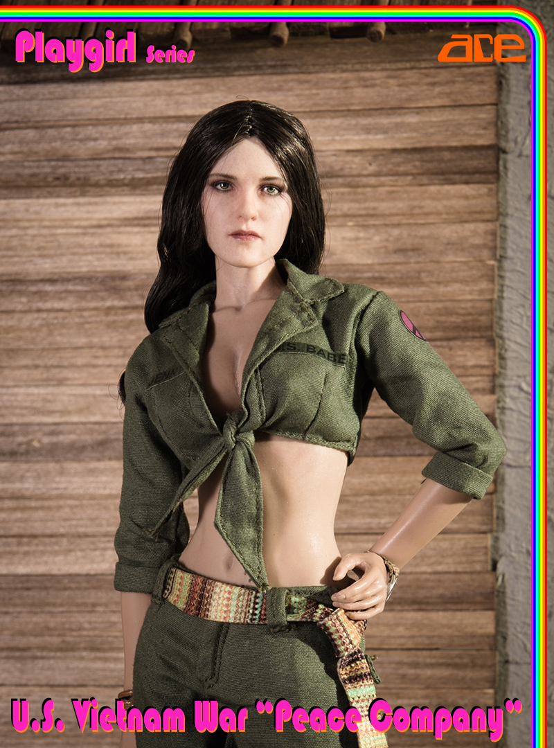 "NEW PRODUCT: ACE: Playgirl Series 13034 U.S. Vietnam War ""Peace Company"" Ace_pl14"