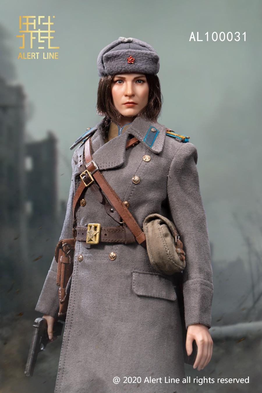 alertline - NEW PRODUCT: Alert Line Boundary Game Model: 1/6 WWII Soviet Army Female Soldier NKVD, Soviet Army Female Medical Soldier #AL100031/32 Price announced Alert_10