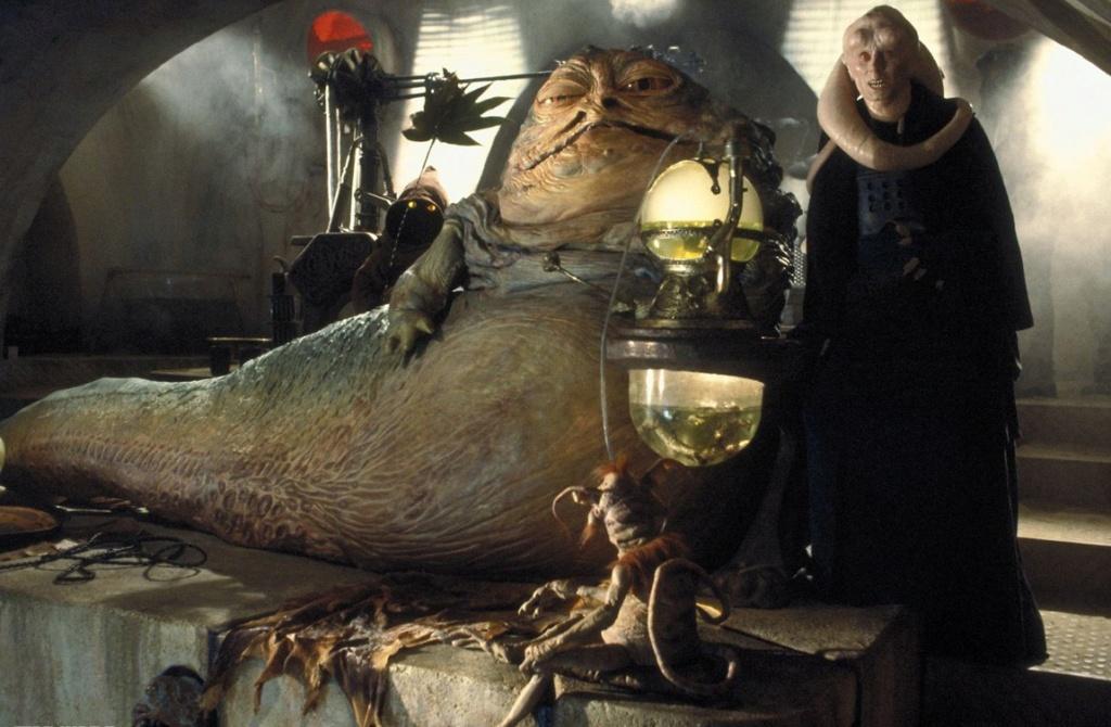 sideshow -  Jabba The Hutt Diorama (New character added) Bibfor10