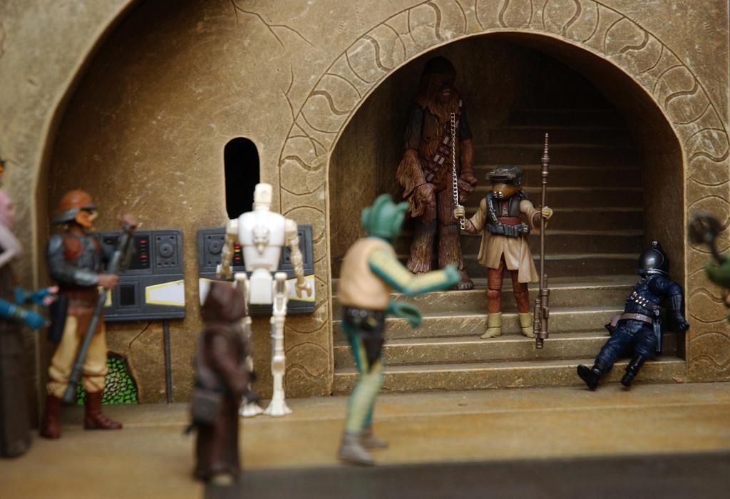 sideshow -  Jabba The Hutt Diorama (New character added) Jabbas13