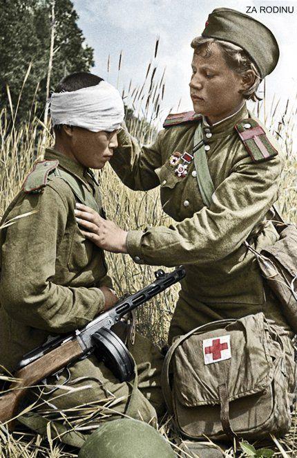 alertline - NEW PRODUCT: Alert Line Boundary Game Model: 1/6 WWII Soviet Army Female Soldier NKVD, Soviet Army Female Medical Soldier #AL100031/32 Price announced Red_ar10