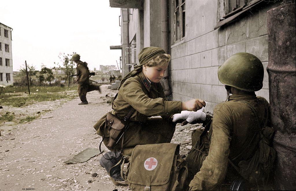 alertline - NEW PRODUCT: Alert Line Boundary Game Model: 1/6 WWII Soviet Army Female Soldier NKVD, Soviet Army Female Medical Soldier #AL100031/32 Price announced Red_ar11