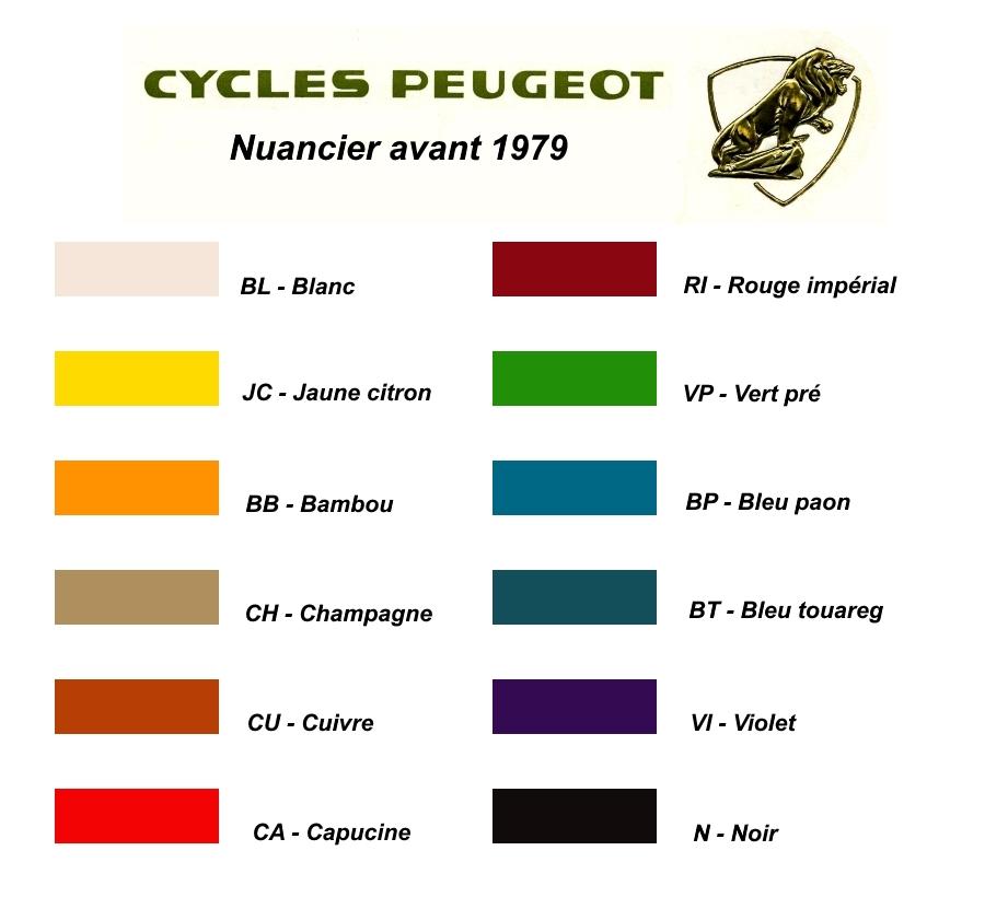 Recherche référence de peinture pour Peugeot Nuanci10