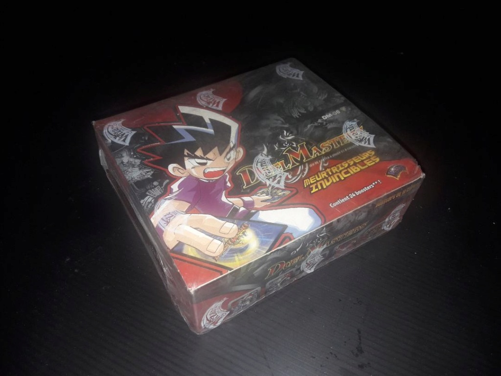 Rare ! A French Box of Duel Masters ! Duelma10