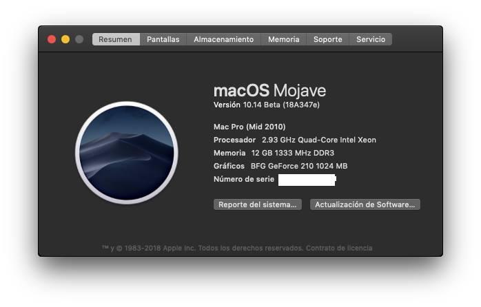 Fix Old NVIDIA macOS Mojave 39500110