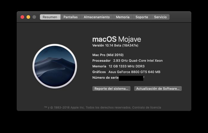Fix Old NVIDIA macOS Mojave Sin_ti10