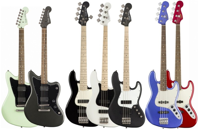 Novos SQUIER CONTEMPORARY! Squier11