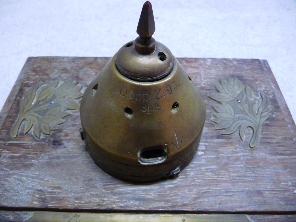 Tete d'obus souvenir du front Belge P1030713