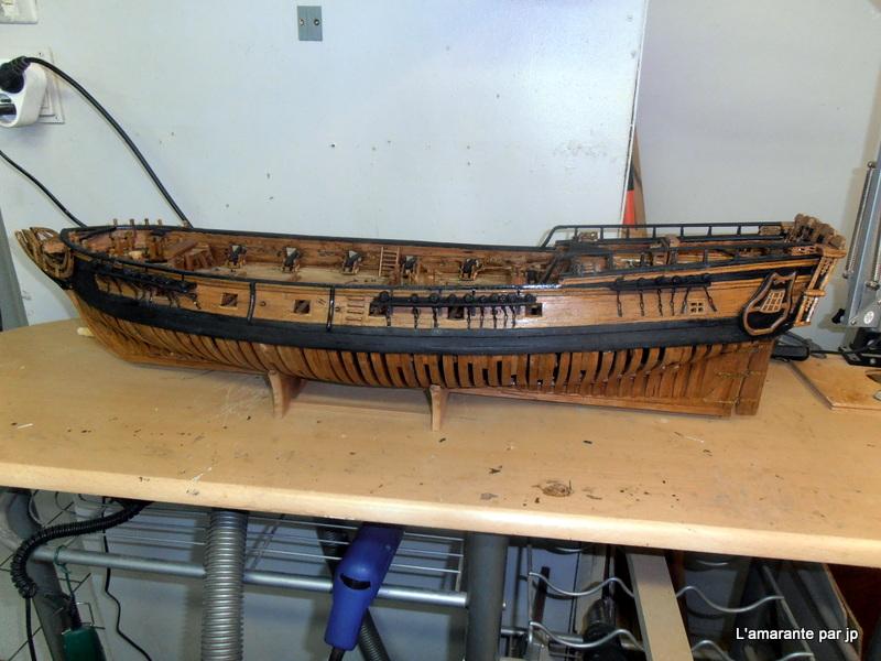 l'amarante corvette de 1747  sur plan de Mr Delacroix  - Page 15 Pc310010