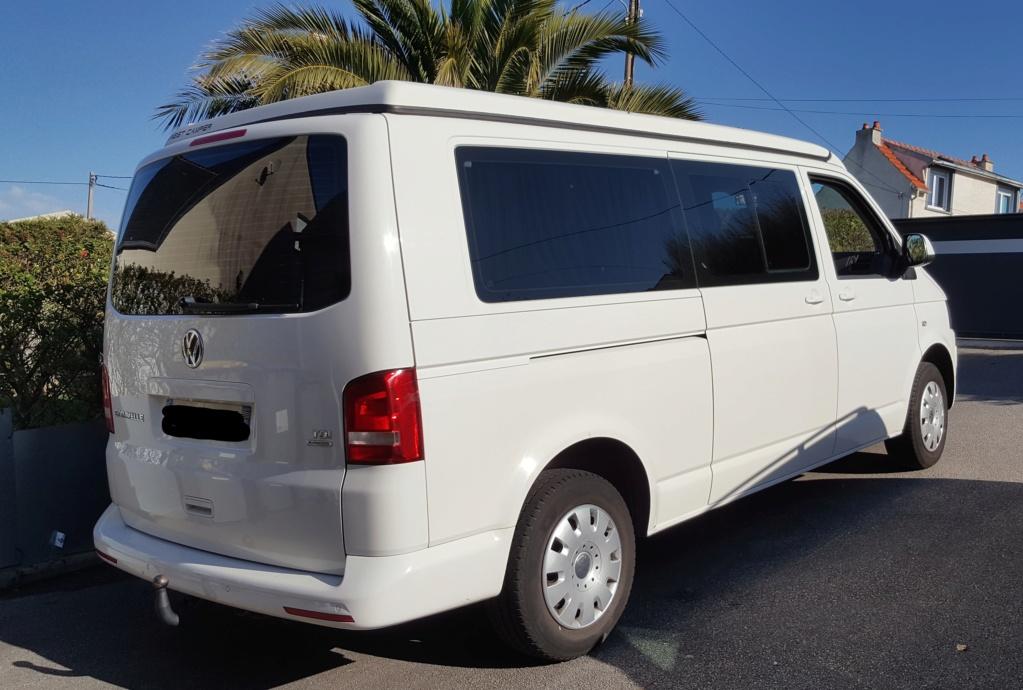 Vends T5 Caravelle Long 2014 (2.0L, 114cv) reprog 174CV avec Toit Reimo 29 900€ 210