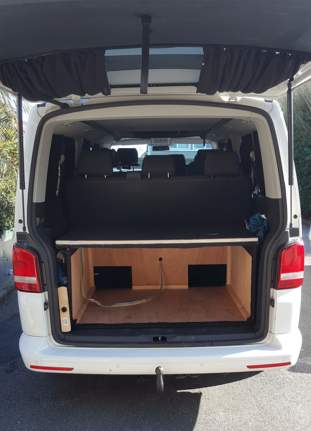 Vends T5 Caravelle Long 2014 (2.0L, 114cv) reprog 174CV avec Toit Reimo 29 900€ 310
