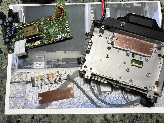 Kenwood TM733 : Problème de puissance ( faible, inexistante ou disparaissant en quelques secondes ) - Idem Alinco DR605 Pile10
