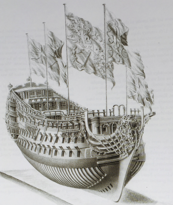 victory - VICTORY 1737 - éch 1/84 - inspiré du Victory 1737-1744 V0510