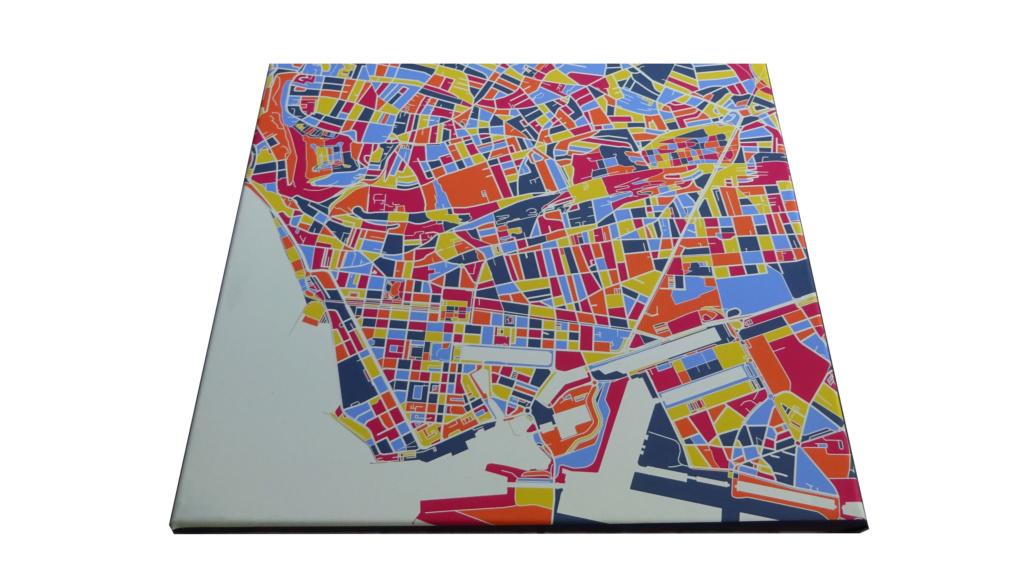Créations de cartes artistiques - Décorations originales et design - Votre ville favorite en déco ! Face10