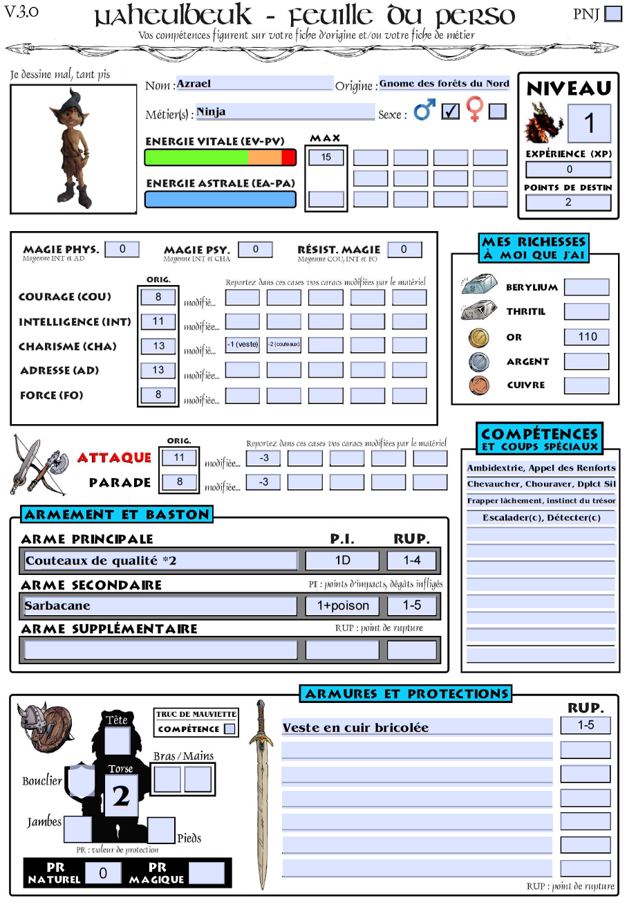 Azrael, Gnome Assassin Azrael10