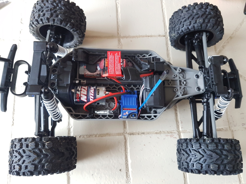Rustler 4x4 Brushed XL5 / Brushless... avec le 2wd maintenant !! 20181210
