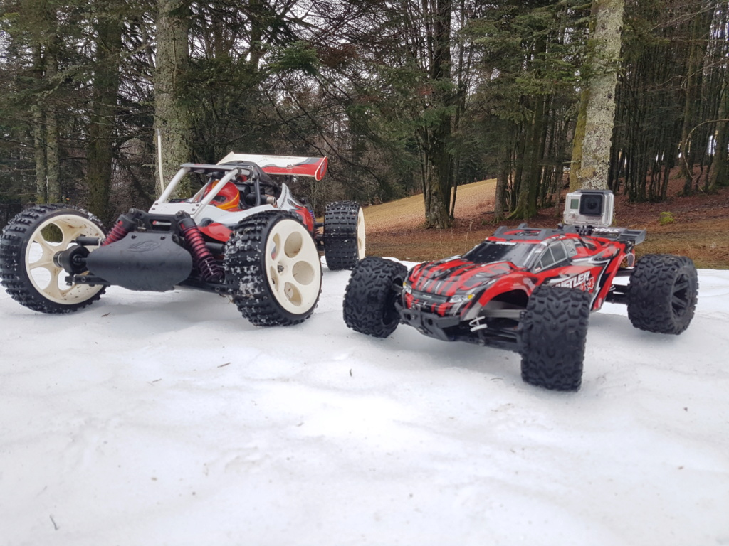 Rustler 4x4 Brushed XL5 / Brushless... avec le 2wd maintenant !! 20181211