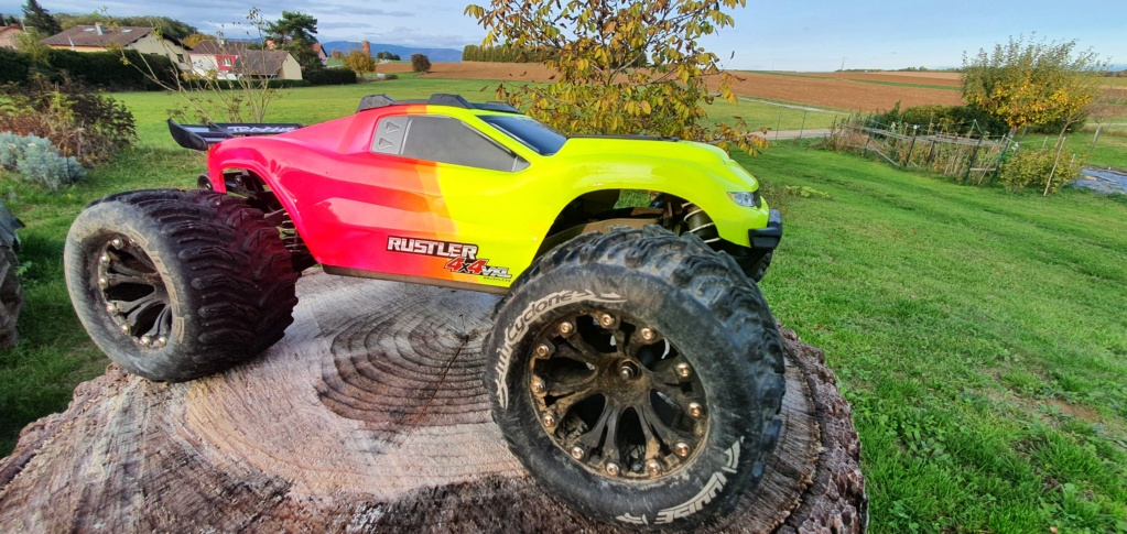 Rustler 4x4 Brushed XL5 / Brushless... avec le 2wd maintenant !! 20201011