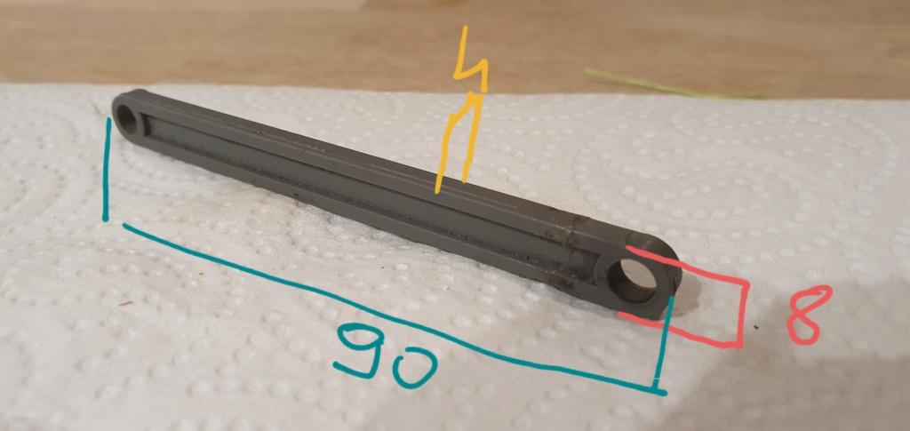 Les biellettes du Rustler 4x4 20210113