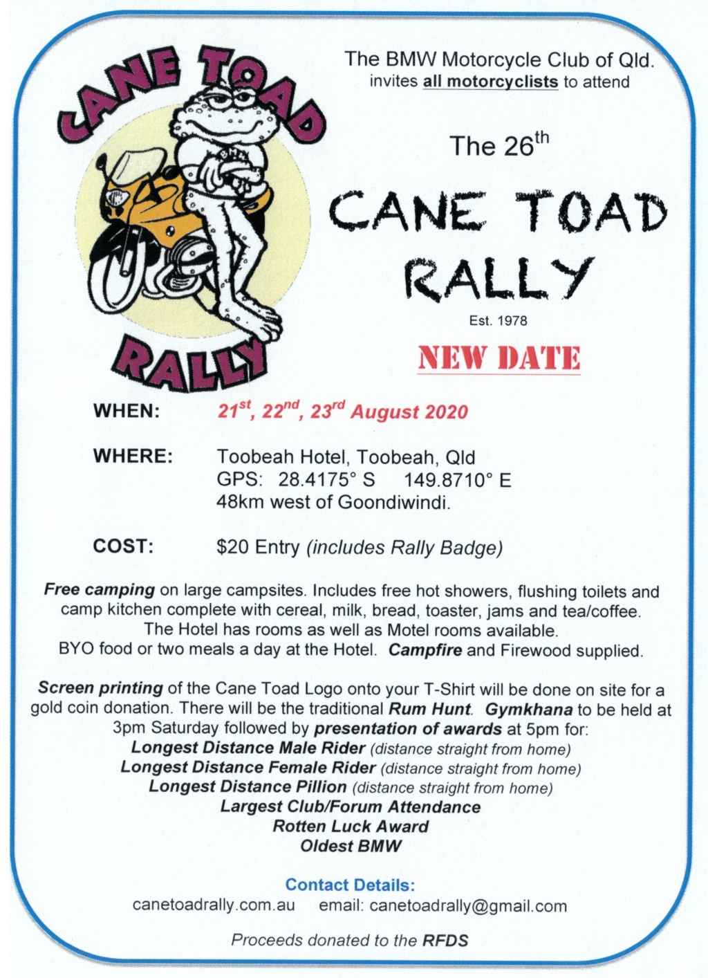 Cane Toad Rally 2020 Ctr_ad11