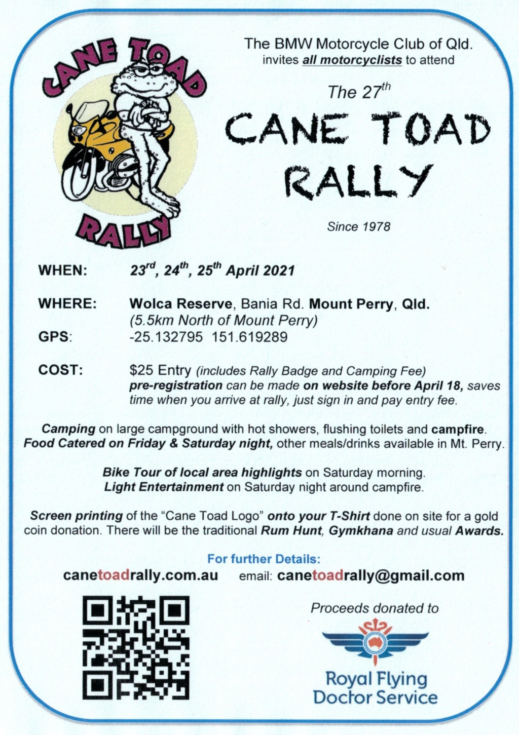 Cane Toad Rally 2021 Ctr_ad12