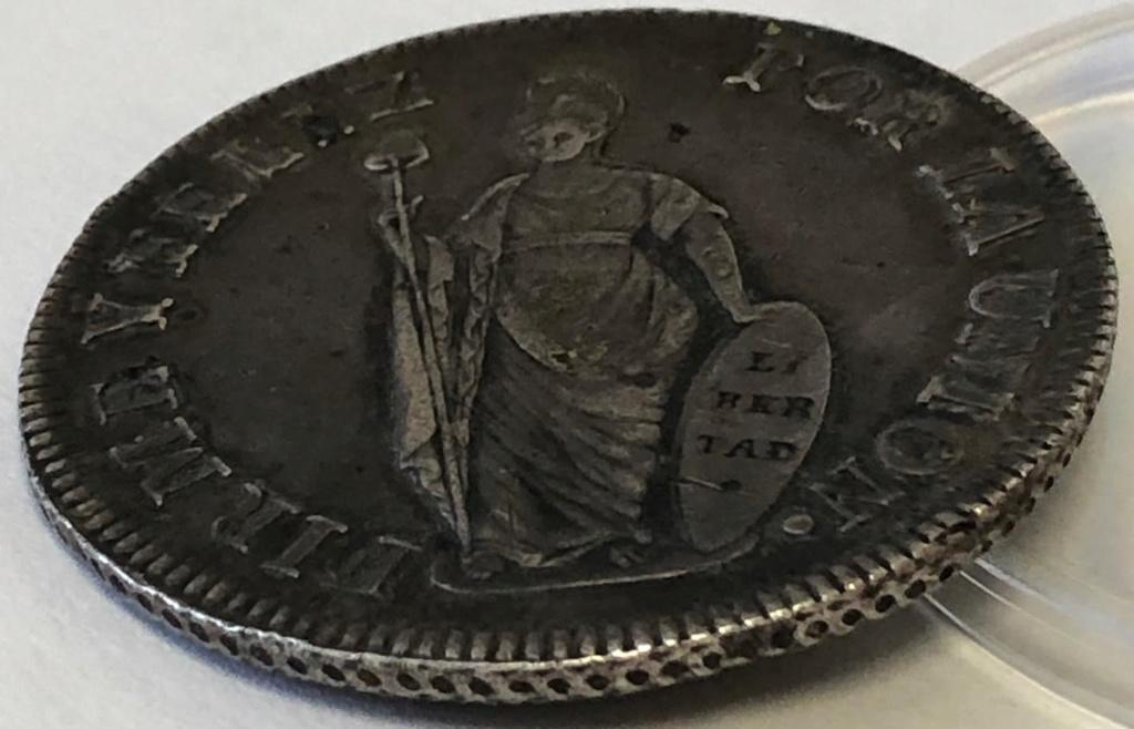 8 Reales de 1832. República de Perú. 010