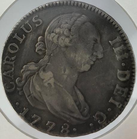4 Reales 1778. Carlos III. Madrid 112