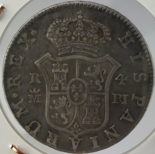 4 Reales 1778. Carlos III. Madrid 211