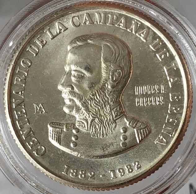 10.000 Soles de Oro 1992. República de Perú. 212