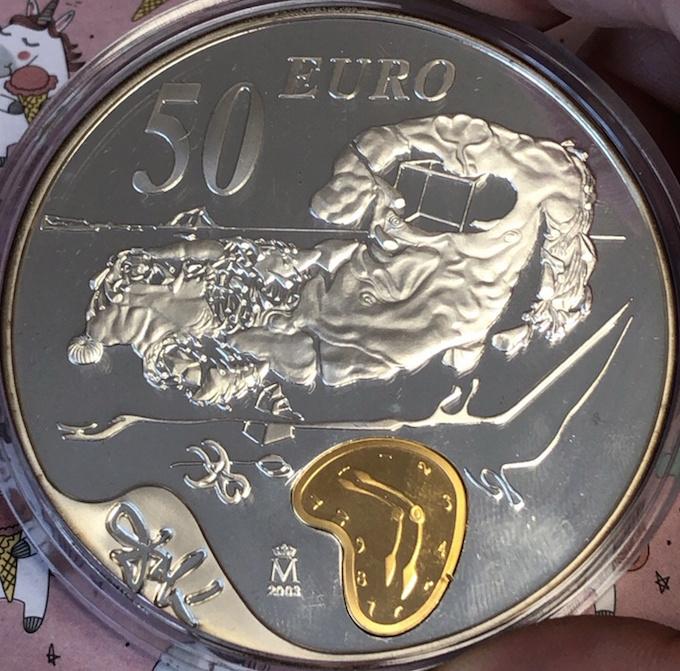 50 euros Dalí 50110