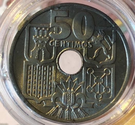 50 céntimos 1949 (*19-51). Estado Español 50ctsa10