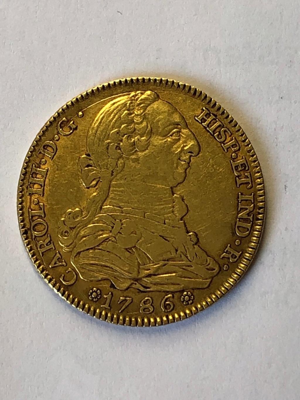 4 Escudos Carlos III Anvers13