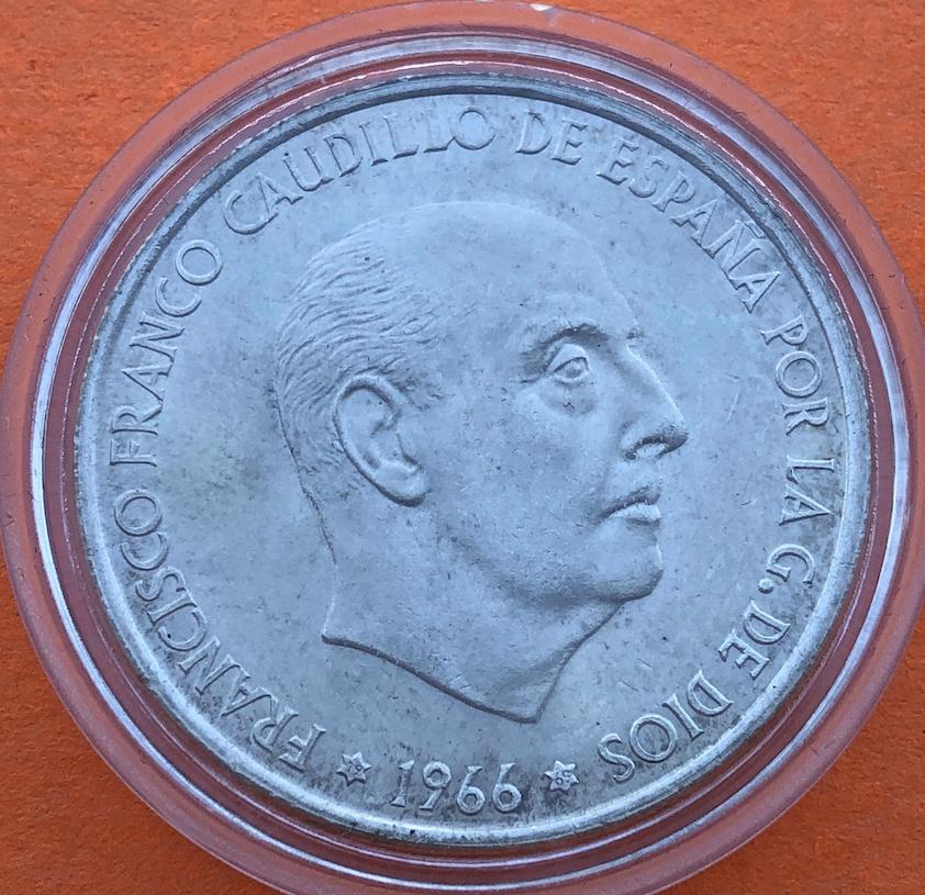 100 pesetas 1966 (*19- 69). Estado Español. Palo recto. Opinión - Página 2 Anvers14