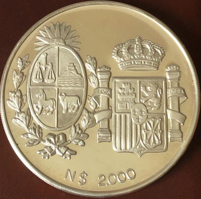 2000 nuevos pesos. República de Uruguay. Anvers18