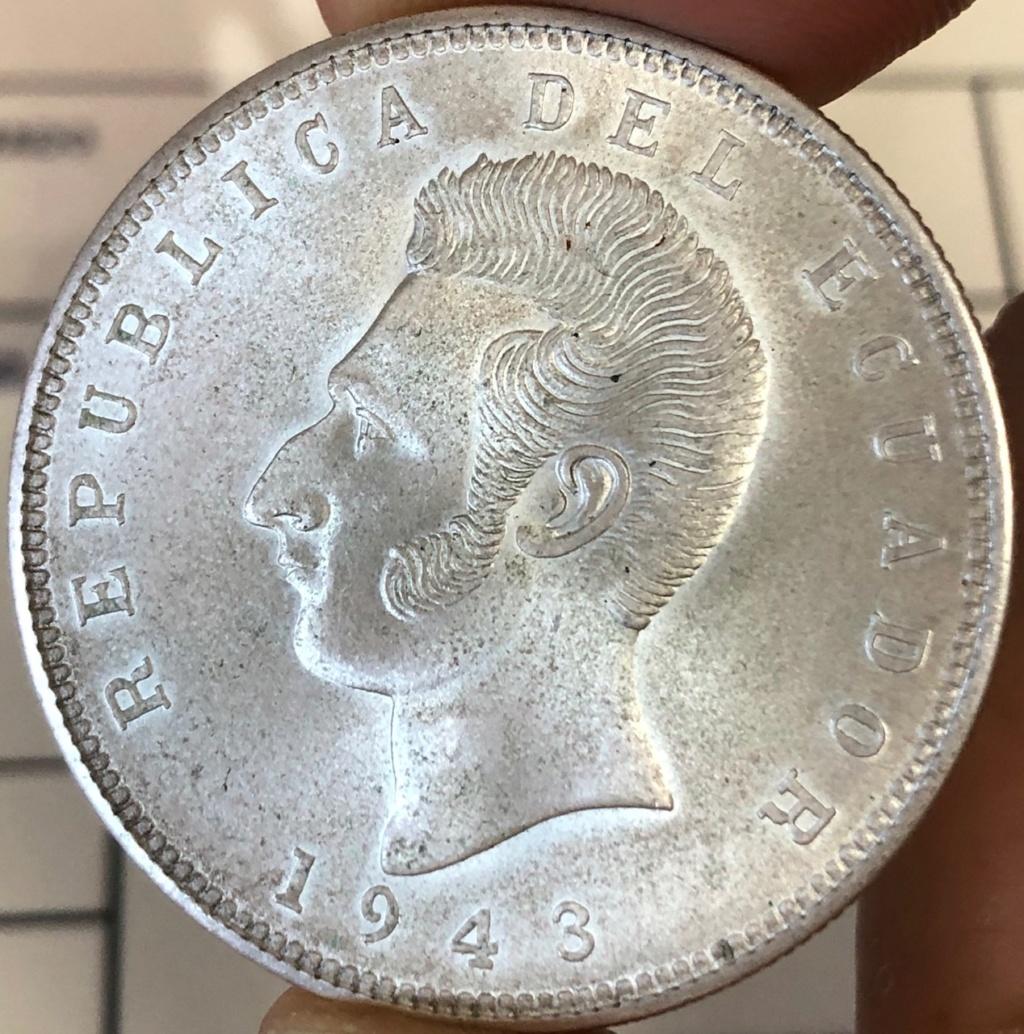 5 Sucres de 1943. Ecuador. Img_2110
