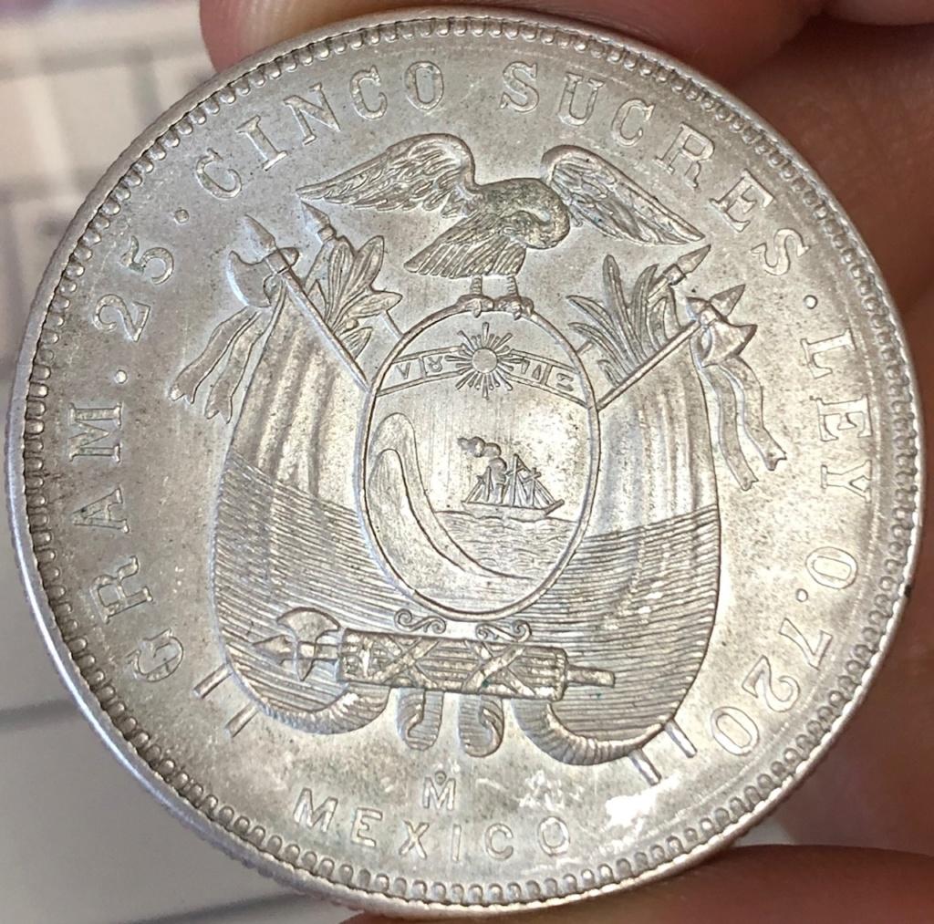 5 Sucres de 1943. Ecuador. Img_2111