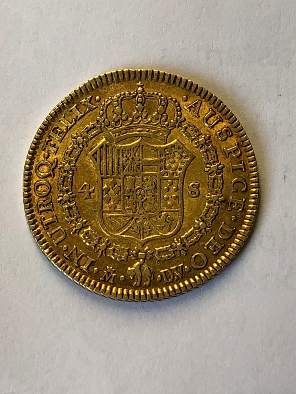 4 Escudos Carlos III Revers13