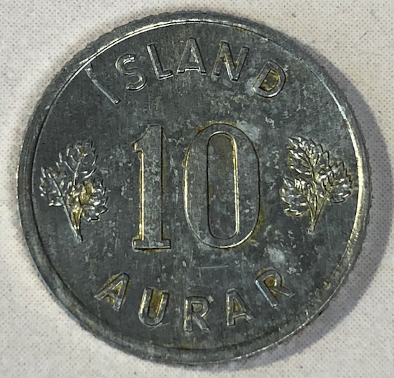 """Flaca"" 10 aurar Islandia Reveso10"