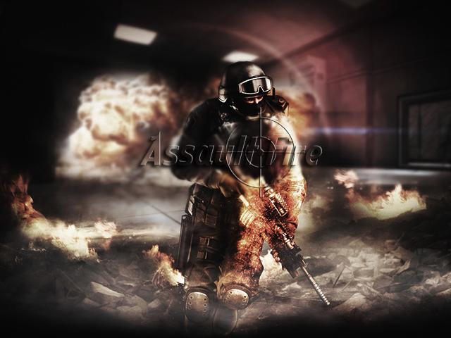 Assault Fire 2D - Online Title10