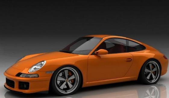 Porsche 911 caisse en restauration par les ateliers du centr Captur56